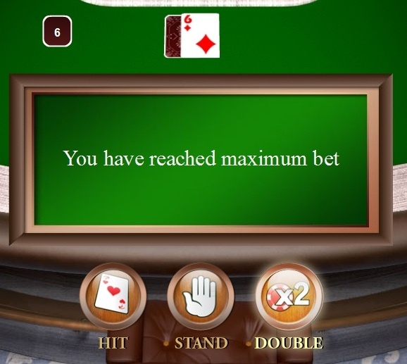 maximum bet casino